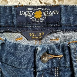 Lucky Brand Ladies Jeans 10/30 Sweet Jean Straight